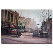 Trademark Fine Art Ryan Radke 'Another Day in Fond du Lac' Canvas Art 16x24 Inches