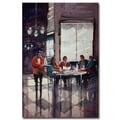 Trademark Fine Art Ryan Radke 'Fine Dining' Canvas Art 16x24 Inches
