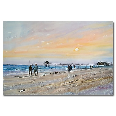 Trademark Fine Art Ryan Radke 'Florida Sunset' Canvas Art 16x24 Inches