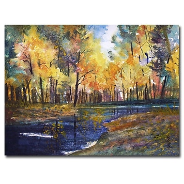 Trademark Fine Art Ryan Radke 'Nature's Glory' Canvas Art 22x32 Inches