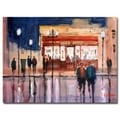 Trademark Fine Art Ryan Radke 'Opening Night' Canvas Art