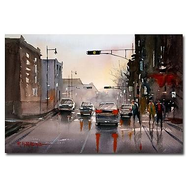 Trademark Fine Art Ryan Radke 'Slick Streets' Canvas Art 16x24 Inches