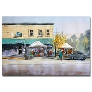 Trademark Fine Art Ryan Radke 'Street Festival-Neshkoro' Canvas Art 22x32 Inches