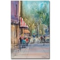 Trademark Fine Art Ryan Radke 'Summer in Cedarburg' Canvas Art 30x47 Inches