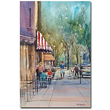 Trademark Fine Art Ryan Radke 'Summer in Cedarburg' Canvas Art 16x24 Inches