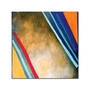 Trademark Fine Art A Tripple Smooth Edge by Rickey Lewis-Ready to Hang