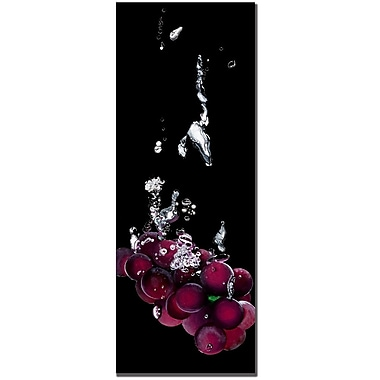 Trademark Fine Art Roderic Stevens 'Grapes Splash' Canvas Art