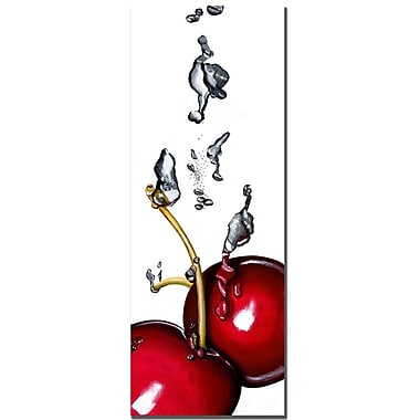Trademark Fine Art Roderic Stevens 'Cherry Splash II ' Canvas Art