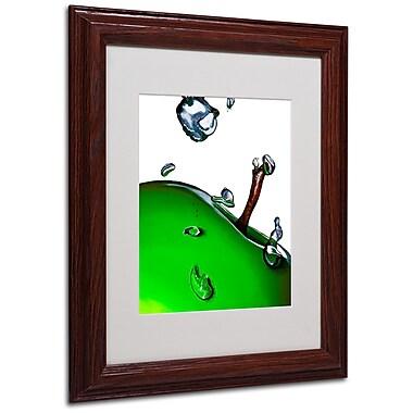 Roderick Stevens 'Granny Splash II' Framed Matted Art - 11x14 Inches - Wood Frame