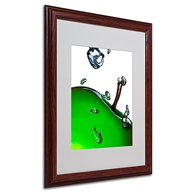 Roderick Stevens 'Granny Splash II' Framed Matted Art - 16x20 Inches - Wood Frame