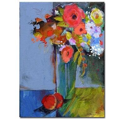 Trademark Fine Art Autumn by Sheila Golden-Ready to Hang Canvas Art