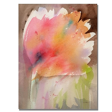 Trademark Fine Art Shelia Golden 'Bloom' Canvas Art 35x47 Inches