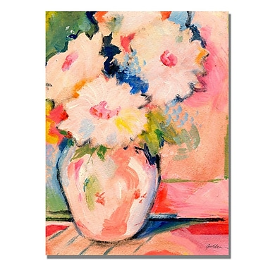 Trademark Fine Art Shelia Golden 'Henri's Bouquet' Canvas Art 26x32 Inches