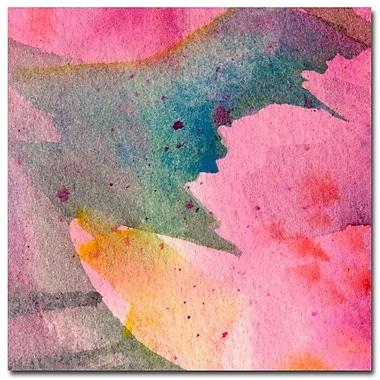 Trademark Fine Art Sheila Golden 'Composition in Pink' Canvas Art, SG0303D-C1818GG