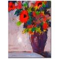Trademark Fine Art Sheila Golden 'Fiesta II' Canvas Art 18x24 Inches