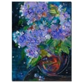 Trademark Fine Art Sheila Golden 'Bouquet in Violet' Canvas Art