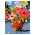 Trademark Fine Art Sheila Golden 'Bouquet for Monica' Canvas Art