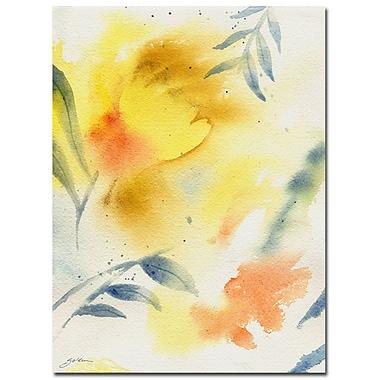 Trademark Fine Art Sheila Golden 'Leaf Spirit' Canvas Art