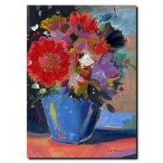 Trademark Fine Art Sheila Golden 'Composition II' Gallery WrappCanvas Art 24x32 Inches