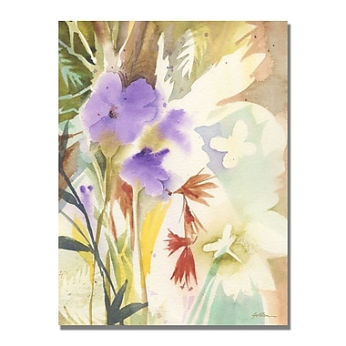 Trademark Fine Art Shelia Golden 'Hymn to Nature' Canvas Art 35x47 Inches