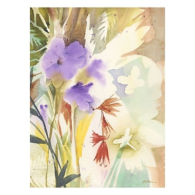 Trademark Fine Art Shelia Golden 'Hymn to Nature' Canvas Art 24x32 Inches