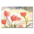 Trademark Fine Art Shelia Golden 'Spring Song' Canvas Art