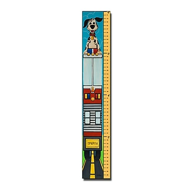 Trademark Fine Art 6 Foot Growth Chart-'Growth Spark' by Sylvia Masek