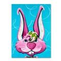 Trademark Fine Art Sylvia Masek 'Dressy Bunny' Canvas Art 22x32 Inches