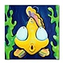 Trademark Fine Art Sylvia Masek 'Fish Bubbles' Canvas