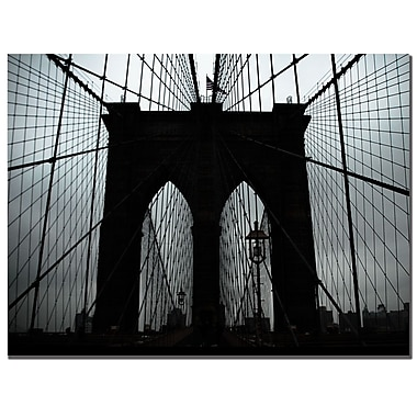 Trademark Fine Art Tammy Davison 'Brooklyn Bridge' Canvas Art