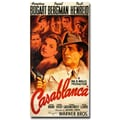 Trademark Fine Art 'Casablanca' Canvas Art 12x24 Inches