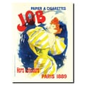 Trademark Fine Art Cheret-Papier a Cigarettes Job Gallery Wrapped Art