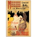 Trademark Fine Art Henri Toulouse-Lautrec 'Moulin Rouge' Canvas Art 24x32 Inches