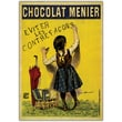 Trademark Fine Art Chocolate Menier by Boisset-Gallery Wrapped Canvas Art