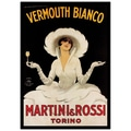 Trademark Fine Art Vermouth Bianco Martini & Rossi by Marcello Dudovich 24x36 Inches