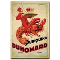 Trademark Fine Art Quinquina Duhomard by Dorti-Albert Dorfinant-Gallery Wrapped