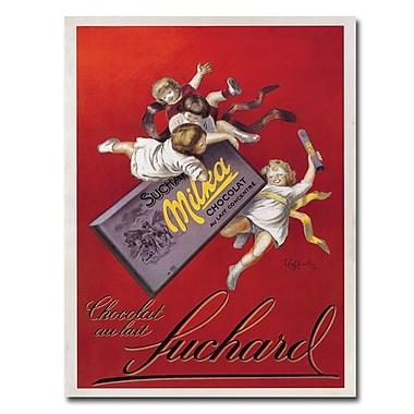 Trademark Fine Art Chocolat Au Lait Canvas Art Ready to Hang