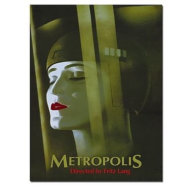 Trademark Fine Art Werner Graul 'Metropolis' Canvas Art 14x19 Inches
