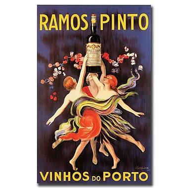 Trademark Fine Art Ramos Pinto Vinhos do Porto-Gallery Wrapped Canvas Art