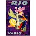 Trademark Fine Art Rio Varig Canvas Art Ready to Hang