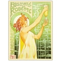 Trademark Fine Art Absinthe Robette by Privat Libemon-Gallery Wrapped 35x47 Inches
