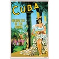 Trademark Fine Art Cuba Holiday Isle- Canvas Art