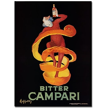 Trademark Fine Art Bitter Campari Canvas Art Ready to Hang