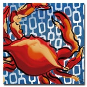 Trademark Fine Art Working Girls Designs 'Crab' Canvas Art