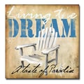 Trademark Fine Art Working Girls Design 'Living the Dream' Canvas Art