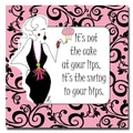 Trademark Fine Art Working Girls Design 'Swing in your Hips' Canvas Art