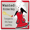 Trademark Fine Art Working Girls Design 'Kitchen Help' Canvas Art
