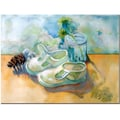 Trademark Fine Art Wendra 'Barefoot' Canvas Art 35x47 Inches