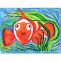Trademark Fine Art Wendra 'Clown Fish' Canvas Art