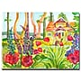 Trademark Fine Art Wendra 'Cottage Garden' Canvas Art